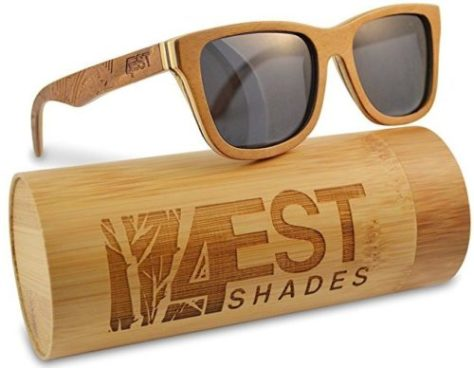 4est Shades Wood Sunglasses