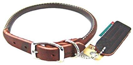 Coastal Pet Latigo Leather Round Collar