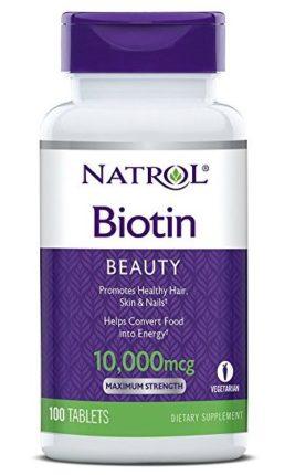Natrol Biotin Tablets