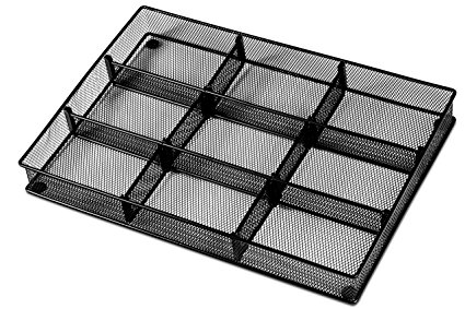 Masirs Metal Adjustable Drawer Organizer