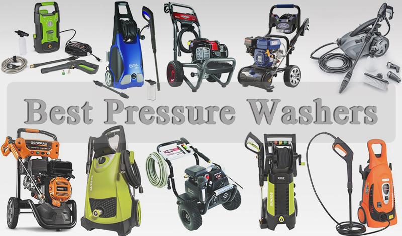 Best Pressure Washers