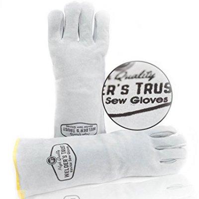 Welder's Trust Heavy Duty Leather Welding Gloves