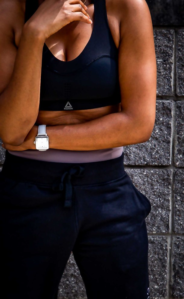 Atlanta fashion and lifestyle blogger in head-to-toe reebook workout gear-13