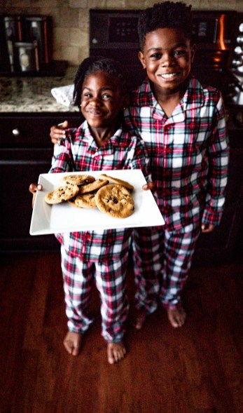 The cutest pajama sets from macy's. kids wearing the cutest plaid pajama set for kids