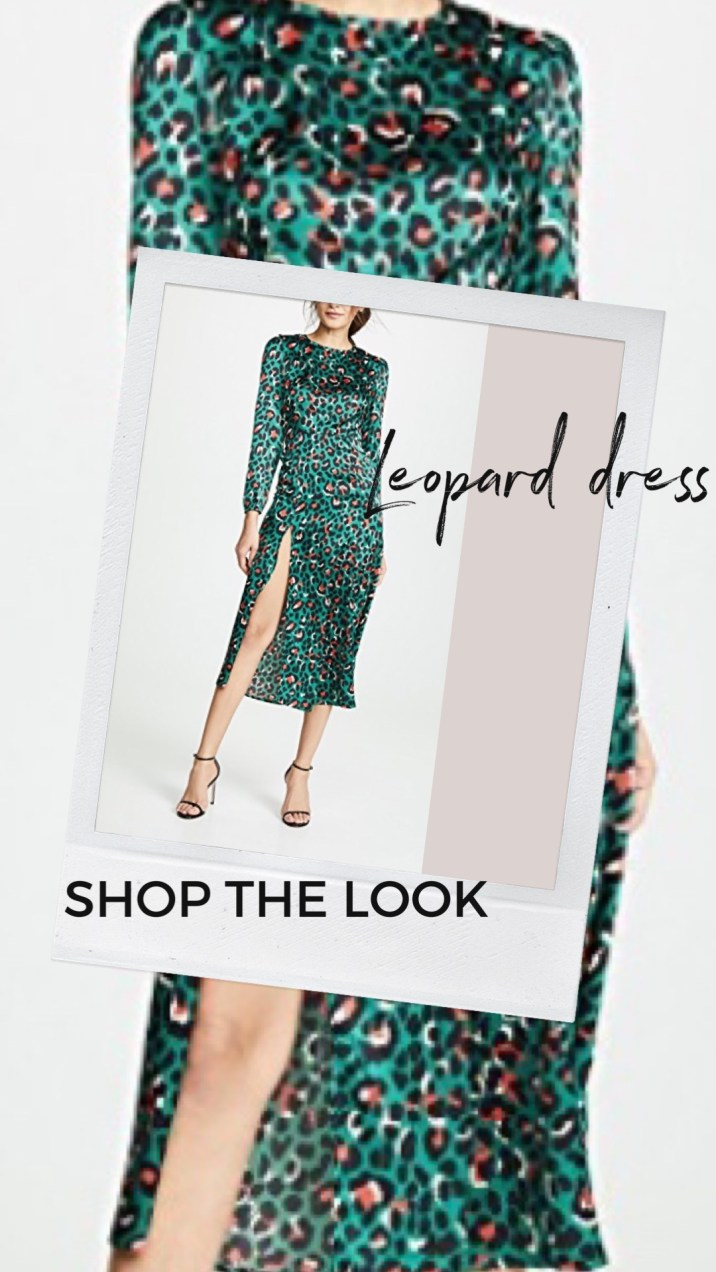 Shopbop sale . leopard dress with slit. Shopbop sale must haves. sale end March 2nd.