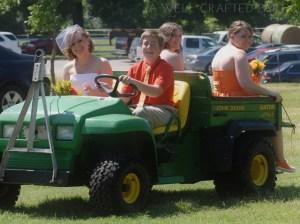 Alternative Transportation for a Farm Wedding