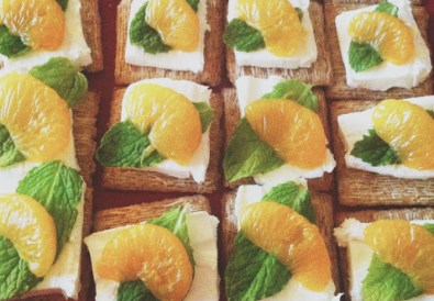 Madarin Orange and Cream Cheese Appetizers // A Well Crafted Party