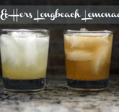 HIs & Hers Longbeach Lemonade Cocktail Recipes