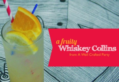 Fruity Whiskey Collins Cocktail Recipe