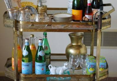 Tips for Creating a Summer Bar Cart