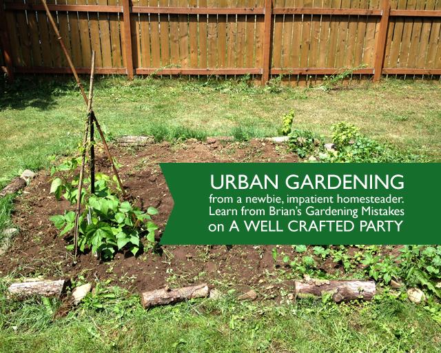 Urban Gardening Mistakes