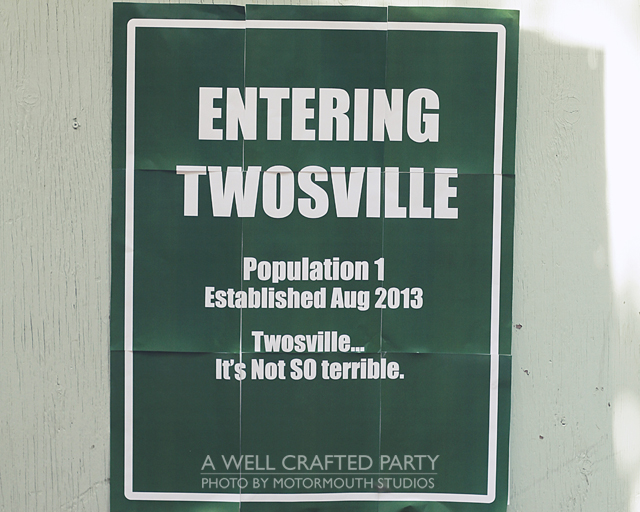 Entering Twosville