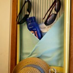 Featured: DIY Sunscreen Station at Today's Creative Blog