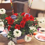 Fast Fourth of July Party Favors // Featured on A Well Crafted Party