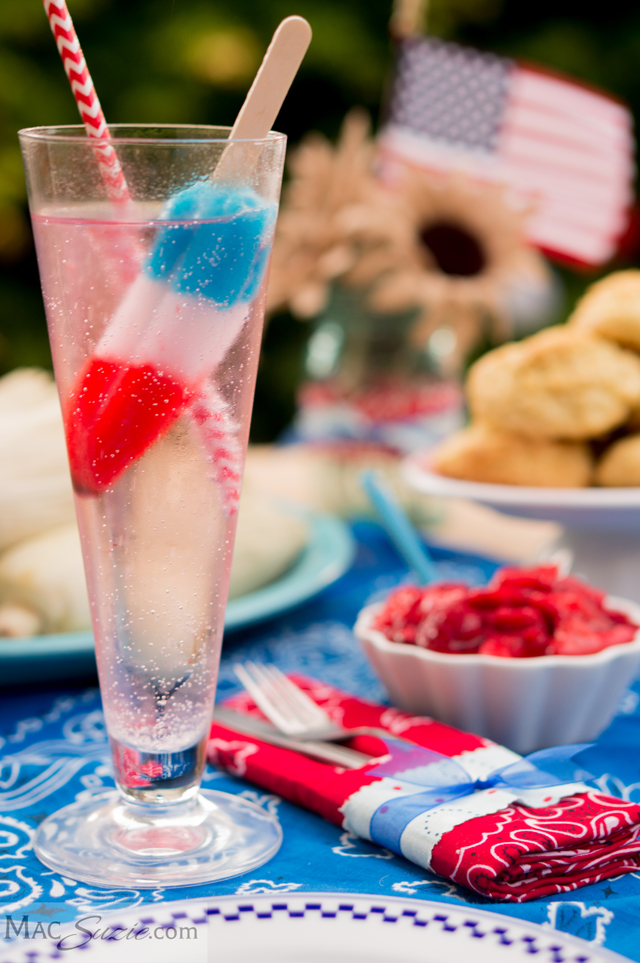 rocket pop cocktail // Featured on A Well Crafted Party