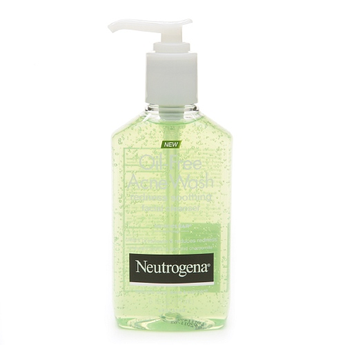 Neutrogena Oil-Free Acne Wash // Redness Soothing Facial Cleanser