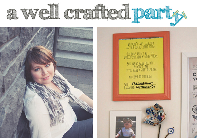 About DIY Blogger Jenni Bost of A Well Crafted Party