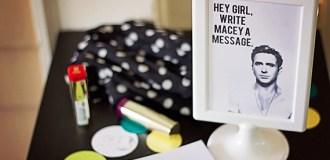 Hey Girl Party Activities: Hey Girl Guest Book