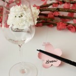 Cherry Blossom Chopstick Holders - A Well Crafted Party