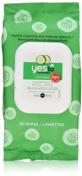 Face wipes, specifically cucumber face wipes, have become a camping essential for me!
