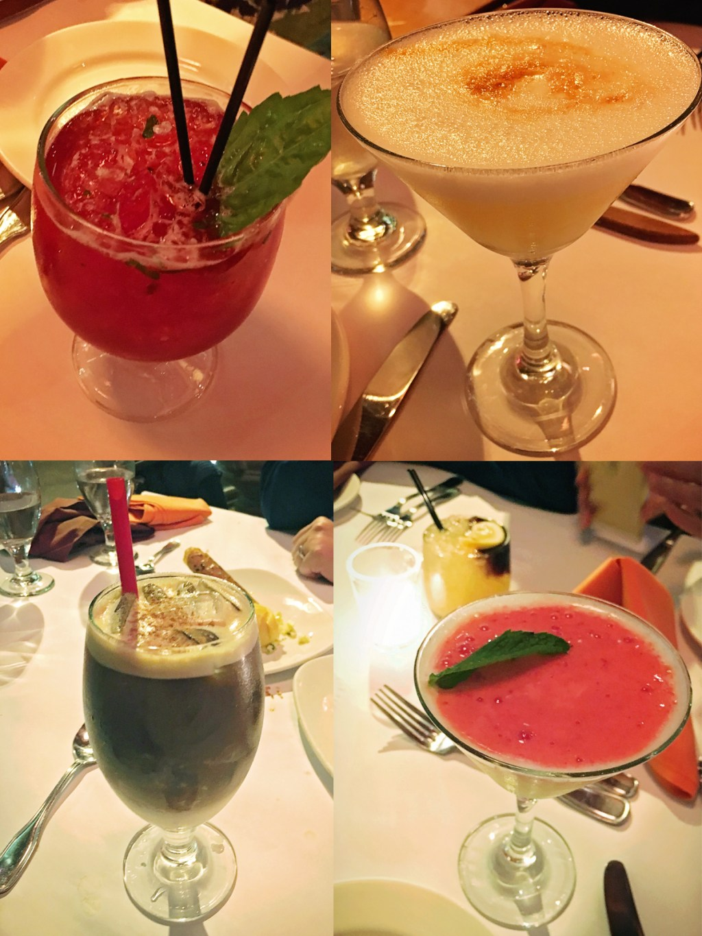Best cocktails at Andina from A Well Crafted Party