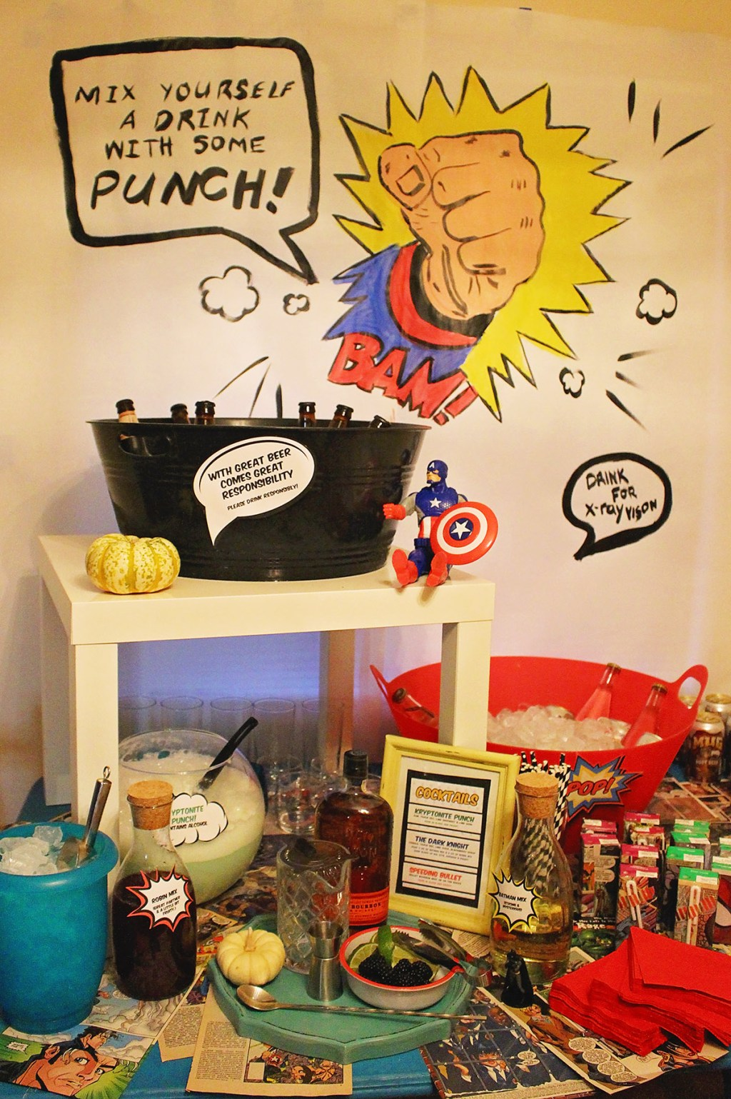 Comic Book Halloween Party