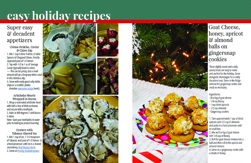 Holiday Recipes - A Well Crafted Party