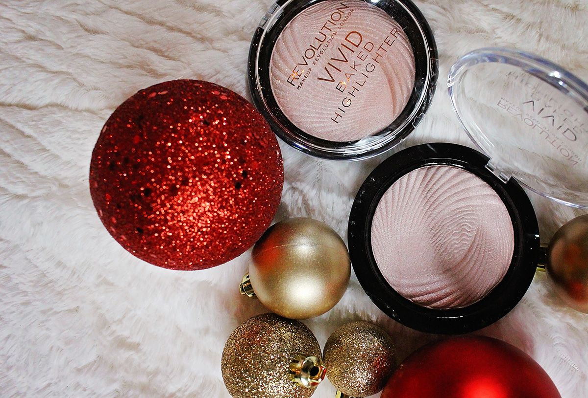 Vivid Baked Highlighter by Makeup Revolution - A Well Crafted Party Sponsored Gift Guide