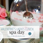 Valentine's Day Spa Invitations - A Well Crafted Party