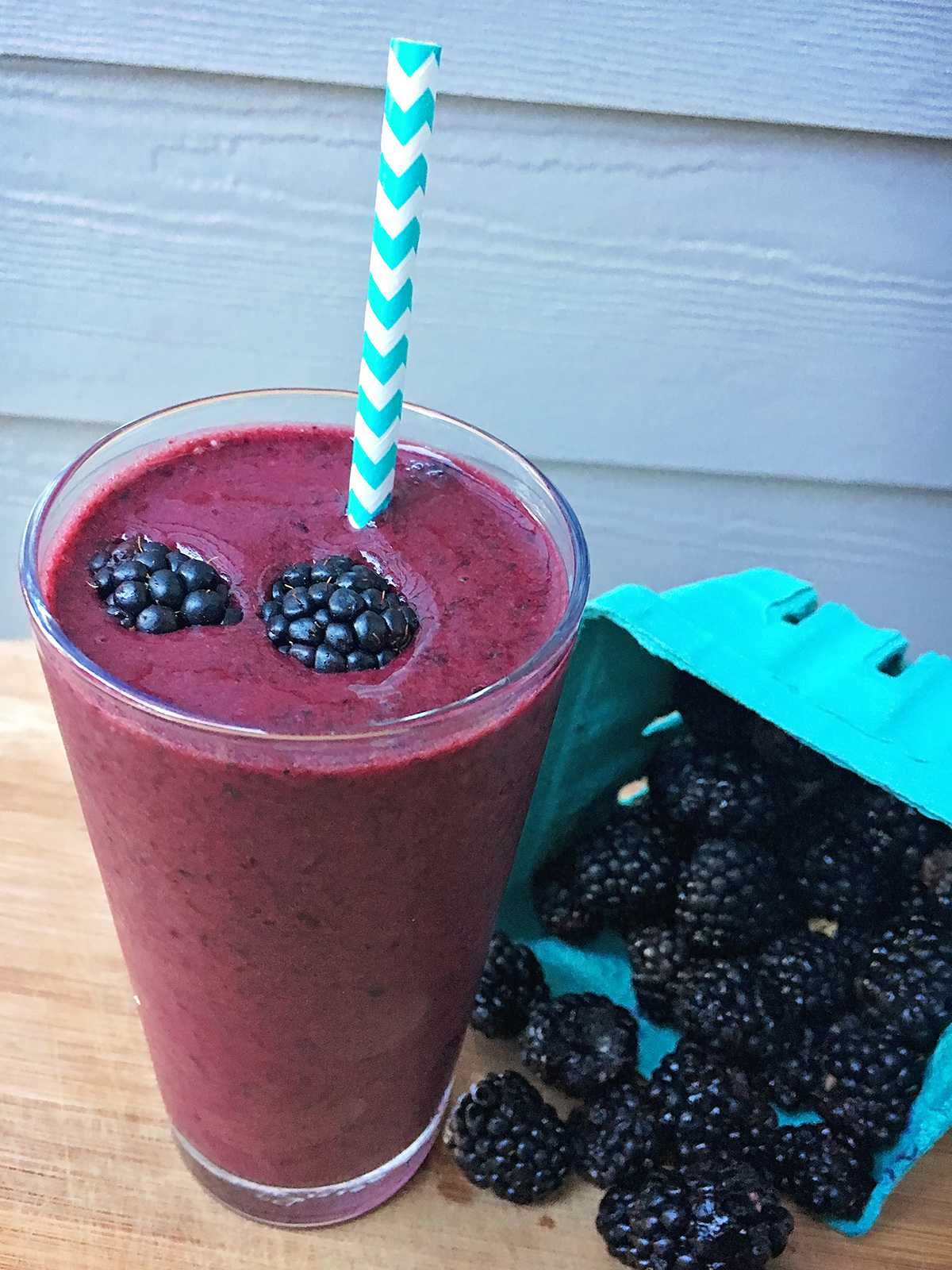 Triple Berry and Miso Smoothie | A Well Crafted Party