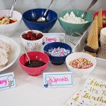 DIY Ice Cream Party + Free Printables | A Well Crafted Party