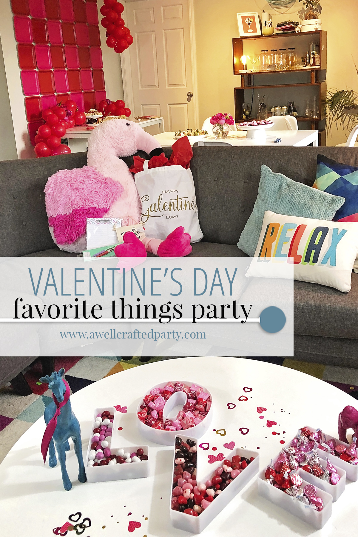 Valentine's Day Favorite Things Party | A Well Crafted PartyValentine's Day Favorite Things Party | A Well Crafted Party