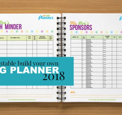 Free Printable Blog Planner | A Well Crafted Blog