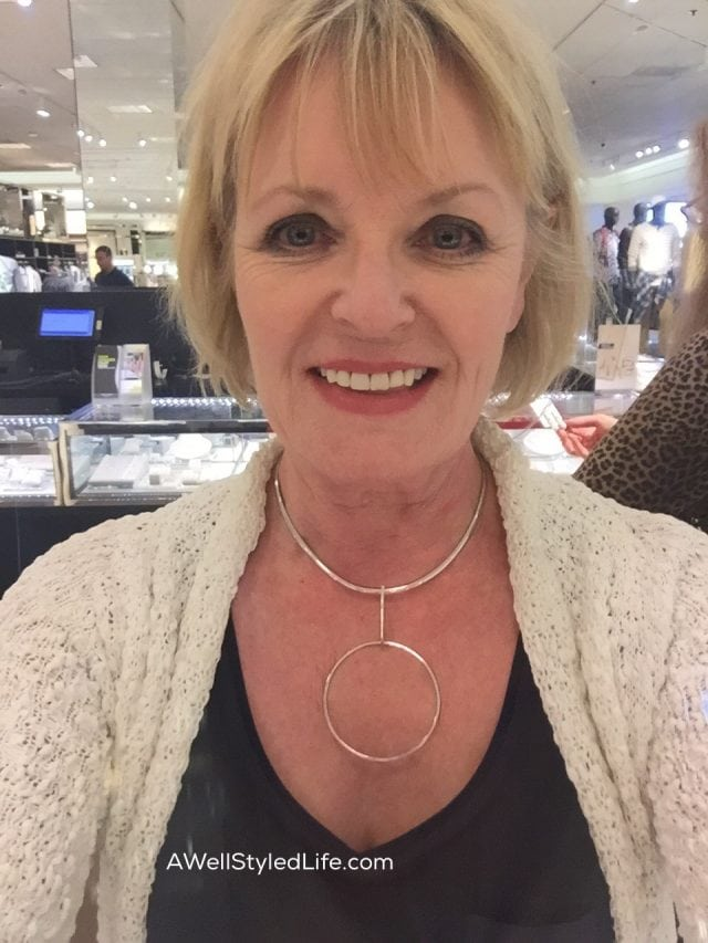 The Choker Necklace Trend: Tread Lightly Over 50