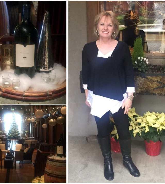 Wine tasting at Merryvale Winery
