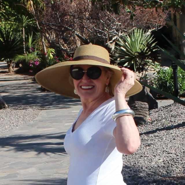 enjoying the sun in Loreto Bay