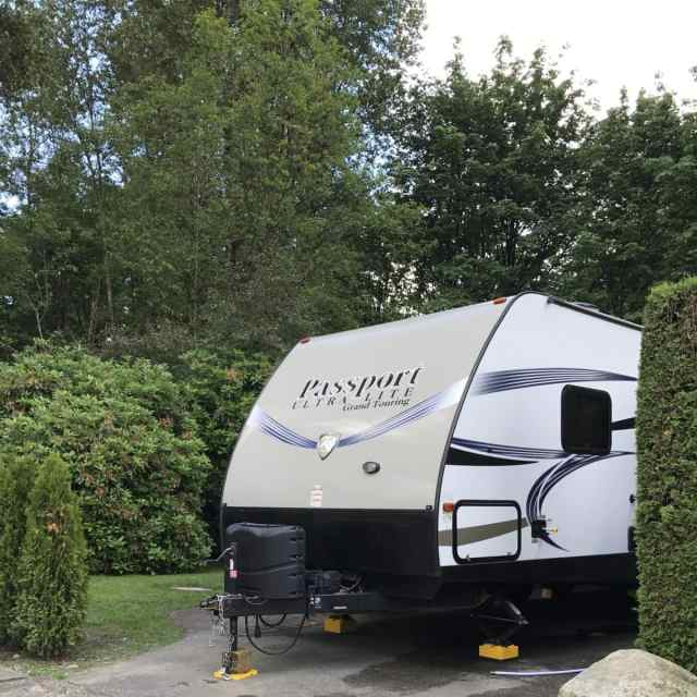Rv camping in Burnaby, BC