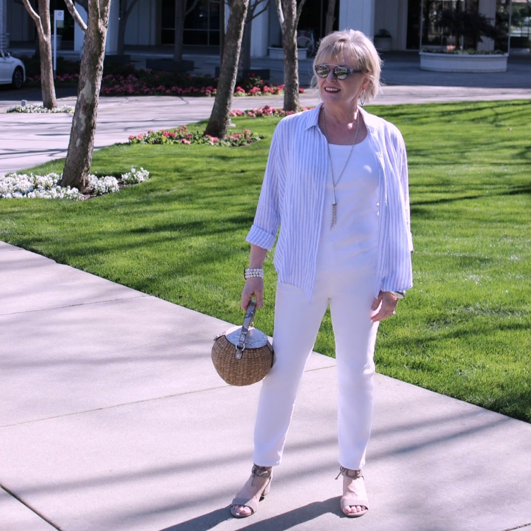 Fashion Over 50: How to Choose White Jean's · A Well ...