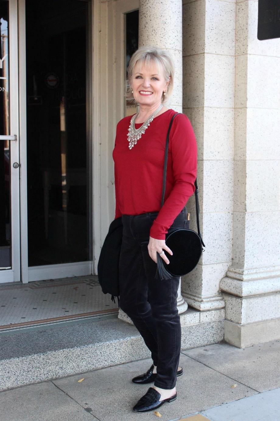 Velvet jeans from Ann Taylor on A Well Styled Life