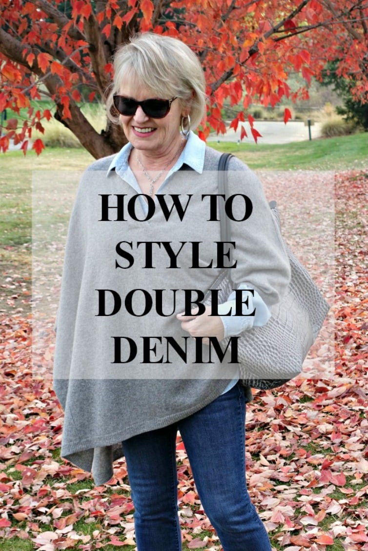style blogger Jennifer Connolly of A Well Styled Life shares the new rules for styling double denim