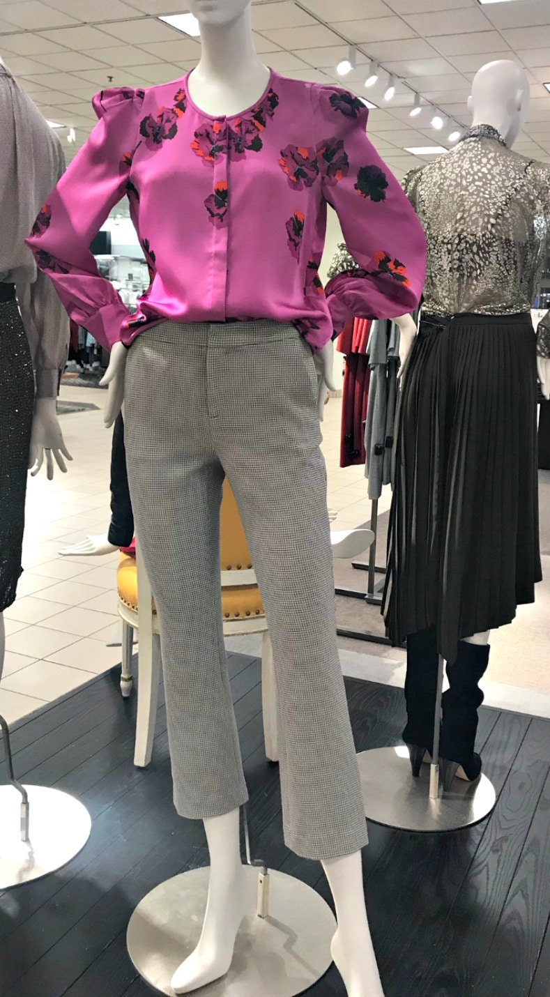 pink blouse from Nordstrom on A Well Styled Life