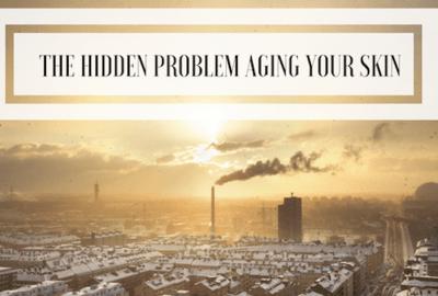 pollution harmingyour skin