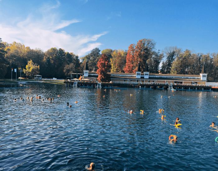 Lake Heviz, Hungary www.awelltravelledbeauty.com