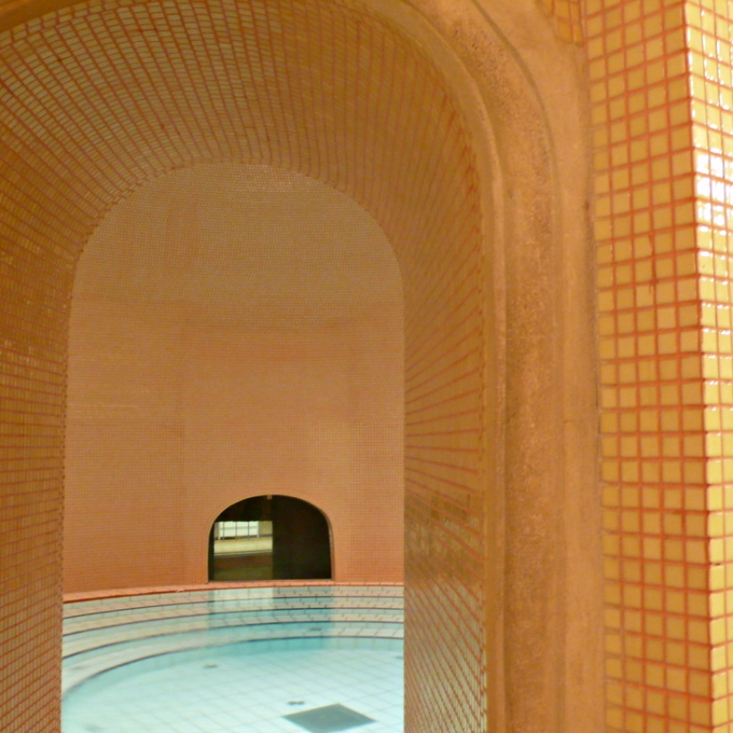 """Lukas baths - A Guide to Budapest Thermal Baths. Bathing in thermal waters has been part of everyday life in Budapest for centuries. Officially named """"The City of Spas"""" which of Budapests baths should you visit. www.awelltravelledbeauty.com"""