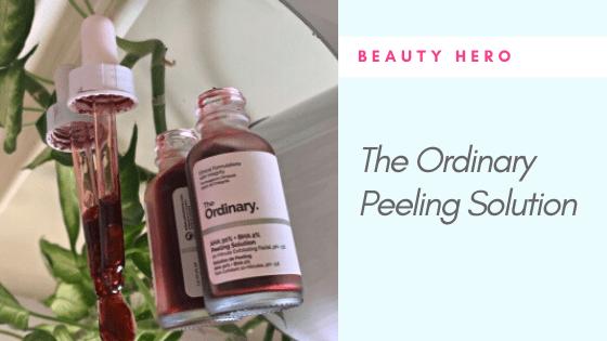 How to use The Ordinary AHA 30% + BHA 2% Peeling Solution