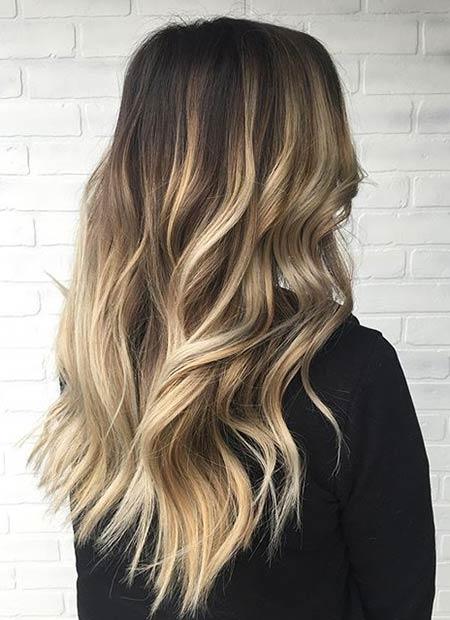 Hair Dark Top Bottom Light
