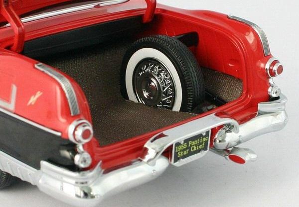 118 1955 Pontiac Star Chief Hardtop SS 5042BK High