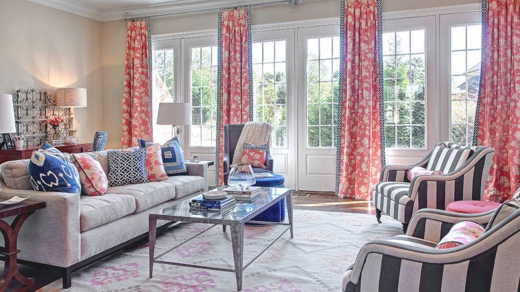 100 living room curtain decorating