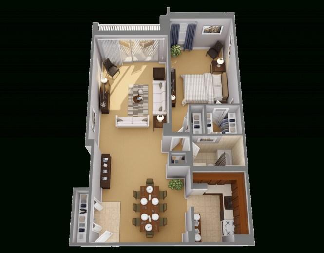 1 Bedroom Apartment Floor Plans Pdf