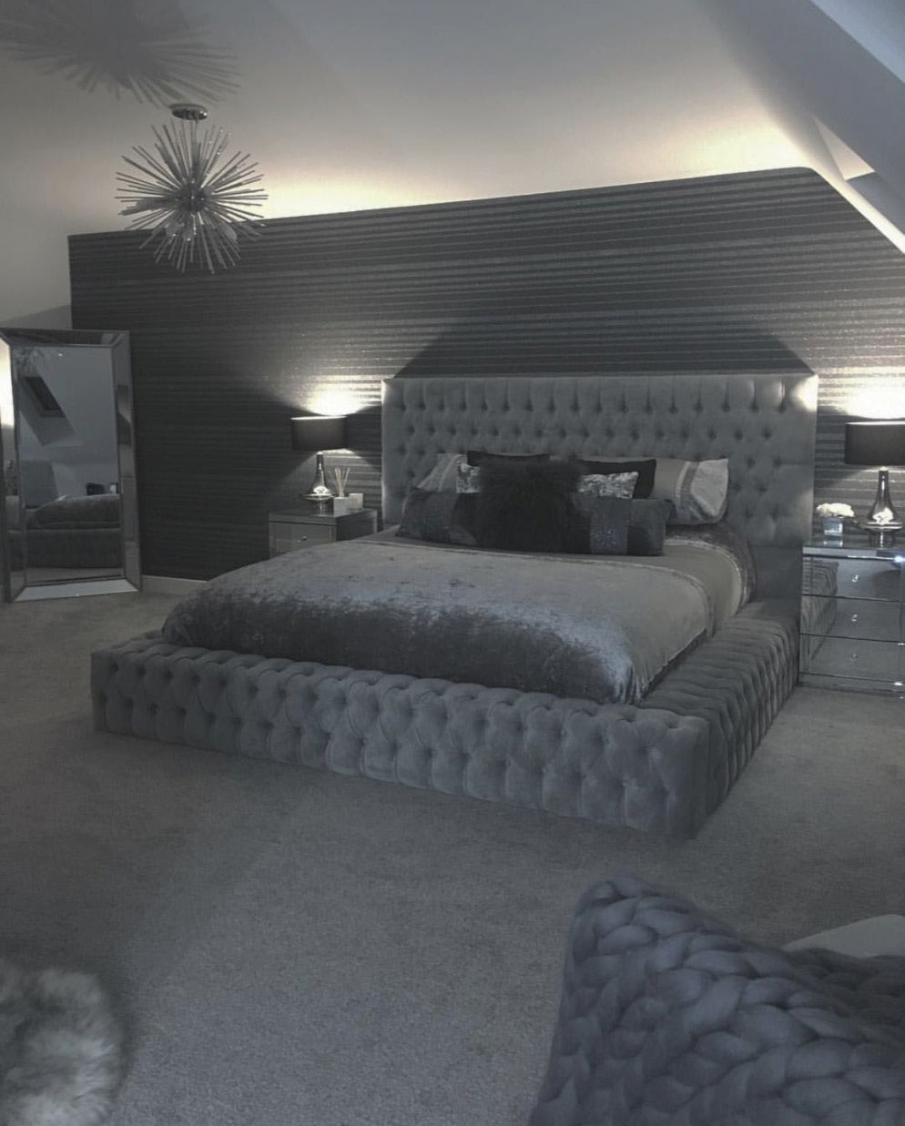 Excellent Grey White Bedroom Decorating Ideas Tips For 2019 With Beautiful Black And Grey Bedroom Decorating Ideas Awesome Decors